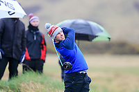 Alex Gleeson (Castle) during the final of the 2018 West of Ireland, in Co Sligo Golf Club, Rosses Point, Sligo, Co Sligo, Ireland. 03/04/2018.<br /> Picture: Golffile | Fran Caffrey<br /> <br /> <br /> All photo usage must carry mandatory copyright credit (&copy; Golffile | Fran Caffrey)