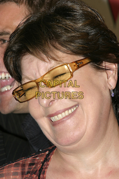 RROBERTA TAYLOR.TV Quick Awards 2004 At The Dorchester, London, W1.September 6th, 2004.headshot, portrait, sunglasses, shades, yellow.www.capitalpictures.com.sales@capitalpictures.com.© Capital Pictures.