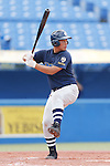 Kazuki Ikenoue, AUGUST 4, 2015 - Baseball : All Japan Little-Senior Baseball Championship final match between Omiya senior 7-3 Edogawa Chuo senior at Jingu stadium in Tokyo, Japan. (Photo by Yusuke Nakanishi/AFLO SPORT)