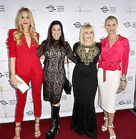 "BEVERLY HILLS, CA - AUGUST 26: Petra Nemcova, Kamala Lopez, Patricia Arquette and Nicolette Sheridan attend the ""Equal Means Equal"" Special Screening at the Music Hall on August 20, 2016 in Beverly Hills, CA. Koi Sojer, Snap'N U Photos / MediaPunch"
