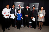 Junior Team of the Year finalists. Counties Manukau Sport Sporting Excellence Awards held at Testra Clear Pacific Events Centre, Manukau, on Thursday 9th December 2010.