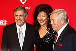 LOS ANGELES, CA - FEB 10: Les Moonves; Julie Chen; Robert Kraft at the 2012 MusiCares Person of the Year Tribute To Paul McCartney at the LA Convention Center on February 10, 2012 in Los Angeles, California