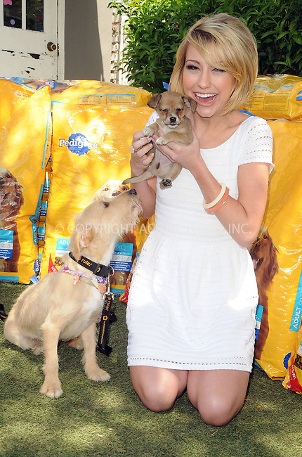 WWW.ACEPIXS.COM . . . . .  ....June 1 2011, LA....Chelsea Kane and Pedigree kick off the 'Every Dog Deserves' Campaign by donating 100,000 pounds of dogfood to The Amanda Foundation on June 1, 2011 in Beverly Hills, California.....Please byline: PETER WEST - ACE PICTURES.... *** ***..Ace Pictures, Inc:  ..Philip Vaughan (212) 243-8787 or (646) 679 0430..e-mail: info@acepixs.com..web: http://www.acepixs.com