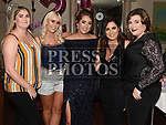 Ciara Gorman celebrating her 21st birthday with friends Christina O'Rourke, Shauna Brannigan, Helen Gibbins and Jenny Kelly in the Thatch. Photo:Colin Bell/pressphotos.ie