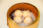 San Francisco: Chinatown dim sum dining at Hang Ah restaurant, siu mai, shrimp with pork dumpling.  Photo copyright Lee Foster. Photo # casanf104344