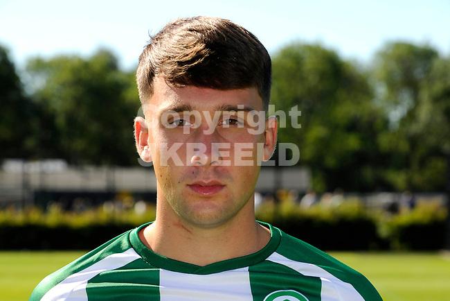 GRONINGEN - Presentatie FC Groningen o23, seizoen 2018-2019,   30-06-2018,  Matthijs Hardijk