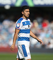 Queens Park Rangers' Massimo Luongo<br /> <br /> Photographer Rob Newell/CameraSport<br /> <br /> The EFL Sky Bet Championship - Queens Park Rangers v Blackburn Rovers - Friday 19th April 2019 - Loftus Road - London<br /> <br /> World Copyright © 2019 CameraSport. All rights reserved. 43 Linden Ave. Countesthorpe. Leicester. England. LE8 5PG - Tel: +44 (0) 116 277 4147 - admin@camerasport.com - www.camerasport.com