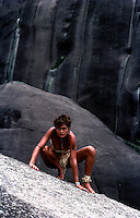 Images from the Book Journey Through Colour and Time,Girl at Rockformation,Queensland