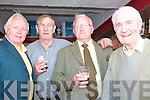 3052-3054.---------.Finish Post.-----------.Checking the results at the Dingle races last Saturday at Ballintaggart were L-R Paddy Heffernan and Jerry Mollane(Athea)with Paddy Curren and Jin Stack(Dingle).