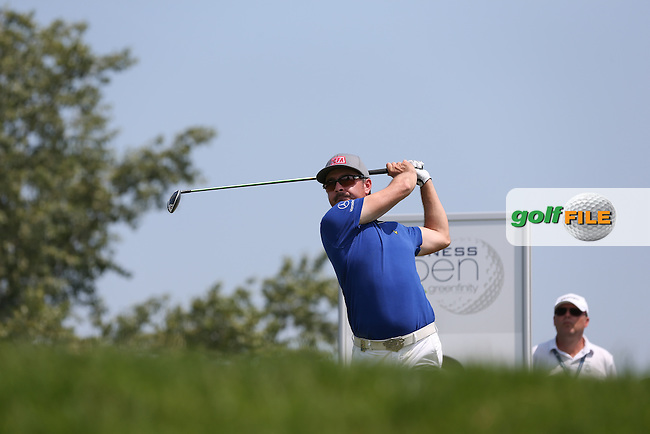 Mikko Korhonen (FIN) one sot the good by the 8th during Round Three of the 2015 Lyoness Open powered by Greenfinity at the Diamond Country Club, Atzenbrugg, Vienna, Austria. 13/06/2015. Picture: Golffile | David Lloyd<br /> <br /> All photos usage must carry mandatory copyright credit (&copy; Golffile | David Lloyd)