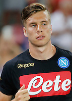 Igor Lasicki  during the friendly soccer match,between SSC Napoli and Onc Nice      at  the San  Paolo   stadium in Naples  Italy , August 01, 2016<br />  during the friendly soccer match,between SSC Napoli and Onc Nice      at  the San  Paolo   stadium in Naples  Italy , August 02, 2016