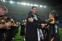 Matt Banahan of Bath Rugby after the match. European Rugby Champions Cup match, between Wasps and Bath Rugby on December 13, 2015 at the Ricoh Arena in Coventry, England. Photo by: Patrick Khachfe / Onside Images