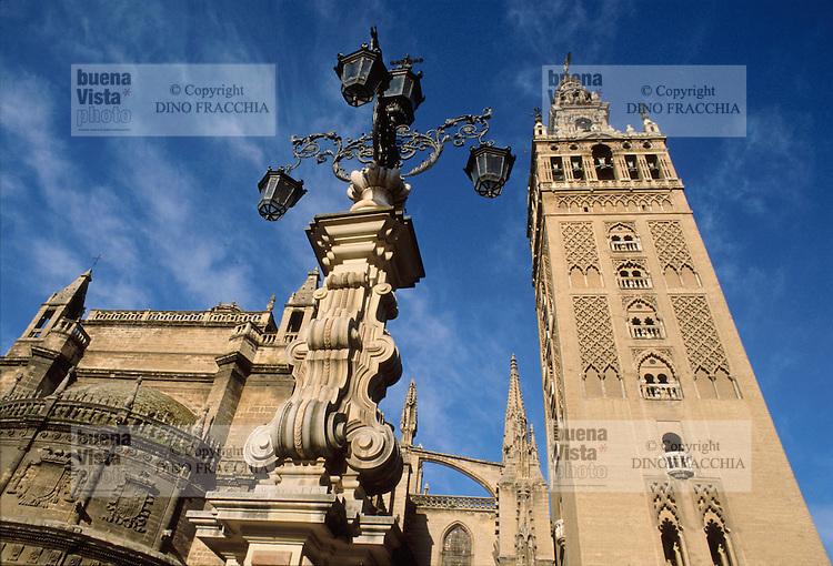 - Seville, Giralda tower....- Siviglia, torre della Giralda..