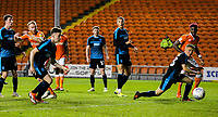 Blackpool's Chris Taylor goes close in the closing stages<br /> <br /> Photographer Alex Dodd/CameraSport<br /> <br /> The EFL Checkatrade Trophy Northern Group C - Blackpool v West Bromwich Albion U21 - Tuesday 9th October 2018 - Bloomfield Road - Blackpool<br />  <br /> World Copyright &copy; 2018 CameraSport. All rights reserved. 43 Linden Ave. Countesthorpe. Leicester. England. LE8 5PG - Tel: +44 (0) 116 277 4147 - admin@camerasport.com - www.camerasport.com