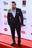 HOLLYWOOD, LOS ANGELES, CA, USA - SEPTEMBER 06: Jacob Vargas arrives at the Los Angeles Premiere Of FX's 'Sons Of Anarchy' Season 7 held at the TCL Chinese Theatre on September 6, 2014 in Hollywood, Los Angeles, California, United States. (Photo by David Acosta/Celebrity Monitor)