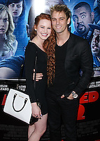 "LOS ANGELES, CA, USA - APRIL 16: Madelaine Petsch, Aaron Carter at the Los Angeles Premiere Of Open Road Films' ""A Haunted House 2"" held at Regal Cinemas L.A. Live on April 16, 2014 in Los Angeles, California, United States. (Photo by Xavier Collin/Celebrity Monitor)"