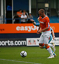 Andy Drury of Luton races through on his way to scoring the first goal during the Blue Square Bet Premier match between Luton Town and Cambridge United at Kenilworth Road, Luton  on 11th September 2010.© Kevin Coleman 2010