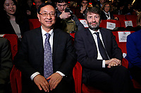 Chinese Minister of Culture and Tourism Luo Shugang and his Italian homologous Dario Franceschini<br /> Rome January 21st 2020. Inauguration of the Italy-China year of culture and tourism.<br /> Foto Samantha Zucchi Insidefoto