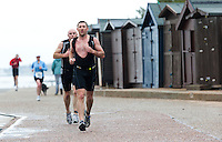 26 SEP 2010 - CLACTON, GBR - Alex Davis - Clacton Standard Distance Triathlon (PHOTO (C) NIGEL FARROW)