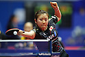 Ai Fukuhara (JPN), .MARCH 27, 2012 - Table Tennis : Ai Fukuhara of Japan in action during the LIEBHERR Table Tennis Team World Cup 2012 Championship division group C womens team match between Japan and Germany at Westfalenhalle on March 27, 2012 in Dortmund, Germany. .(Photo by AFLO) [2268]