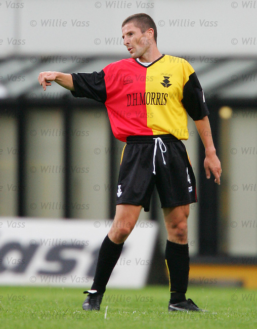 Grant Murray, Partick Thistle.stock season 2004-2005.pic willie vass