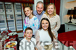Jennifer Hanafin from Tralee celebrating her 20th birthday on Thursday in Cassidys.<br /> Seated l to r: Jennifer and Conor Hanafin.<br /> Back l to r: Rachel, John and Jean Hanafin.