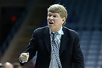05 December 2012: UNC associate head coach Andrew Calder. The University of North Carolina Tar Heels played the Radford University Highlanders at Carmichael Arena in Chapel Hill, North Carolina in an NCAA Division I Women's Basketball game. UNC won the game 64-44.