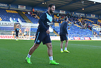 Wycombe Wanderers Sam Wood prior to the Sky Bet League 2 match between Mansfield Town and Wycombe Wanderers at the One Call Stadium, Mansfield, England on 31 October 2015. Photo by Garry Griffiths.