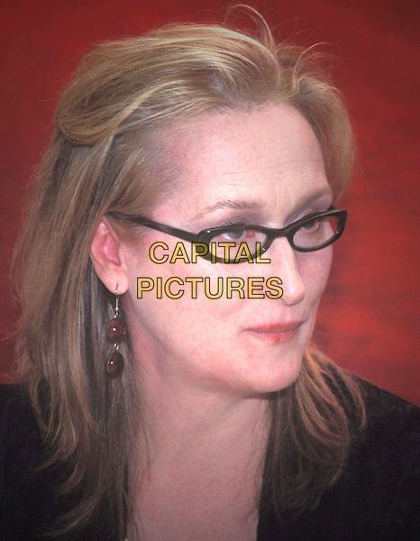 MERYL STREEP.Ref: ND.glasses, headshot, portrait.www.capitalpictures.com.sales@capitalpictures.com.© Capital Pictures