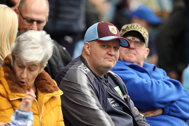 Burnley fans soak up the pre-match atmosphere<br /> <br /> Photographer Rich Linley/CameraSport<br /> <br /> The Premier League - Burnley v Everton - Saturday 5th October 2019 - Turf Moor - Burnley<br /> <br /> World Copyright © 2019 CameraSport. All rights reserved. 43 Linden Ave. Countesthorpe. Leicester. England. LE8 5PG - Tel: +44 (0) 116 277 4147 - admin@camerasport.com - www.camerasport.com
