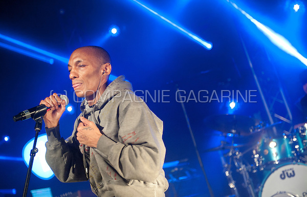 English producer and vocalist Tricky performing at the Radio 1 Sessies, in Antwerp (Belgium, 18/11/2015)