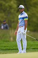 Rafael Cabrera Bello (ESP) looks over his chip on 12 during round 4 of the 2019 PGA Championship, Bethpage Black Golf Course, New York, New York,  USA. 5/19/2019.<br /> Picture: Golffile | Ken Murray<br /> <br /> <br /> All photo usage must carry mandatory copyright credit (© Golffile | Ken Murray)