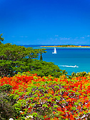 Couleurs d'été sur l'Anse Vata, Nouméa, Nouvelle-Calédonie