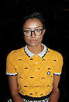 Kat Graham (Vampire Diaries) at Nolcha Fashion Week New York on September 8, 2014 at Eyebeam Atelier - 540 W. 21st St, New York City, New York. (Photo by Sue Coflin/Max Photos)