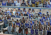 25th July 2020, Los Angeles, California, USA;  Cardboard cutouts are placed behind home plate during the game against the San Francisco Giants on July 25, 2020, at Dodger Stadium in Los Angeles, CA.