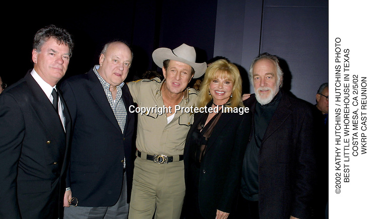 ©2002 KATHY HUTCHINS / HUTCHINS PHOTO.BEST LITTLE WHOREHOUSE IN TEXAS.COSTA MESA, CA 2/5/02.WKRP CAST REUNION