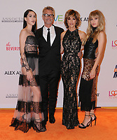 05 May 2017 - Beverly Hills, California - Amelia Hamlin, Harry Hamlin, Lisa Rinna, Delilah Hamlin. 24th Annual Race to Erase MS Gala held at Beverly Hilton Hotel in Beverly Hills. Photo Credit: Birdie Thompson/AdMedia