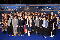 LONDON, UK. November 13, 2018: cast of &quot;Harry Potter And The Cursed Child&quot; at the &quot;Fantastic Beasts: The Crimes of Grindelwald&quot; premiere, Leicester Square, London.<br /> Picture: Steve Vas/Featureflash