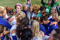 CHICAGO, IL - OCTOBER 06: The United States during a game between the USA and Korea Republic at Soldier Field, on October 06, 2019 in Chicago, IL.