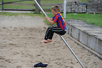 FIERLJEPPEN: IJLST: 19-06-2015, Jeugdwedstrijd  en training, ©foto Martin de Jong