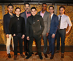 Marcus Ho, Ethan Dubin, Christopher Innvar, Brian Quijada, Gabriel Brown, Tyler Lea, JD Taylor attends the Opening Night Press Reception for the Roundabout Theatre Company/Roundabout Underground production of 'Bobbie Clearly' at The Black Box Theatre on April 3, 2018 in New York City.