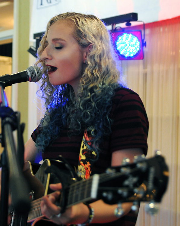 Young Singer performing at Greystone Programs' 27th Annual International Wine Showcase & Auction, held at The Grandview, in Poughkeepsie, NY, on Sunday, October 2, 2016. Photo by Jim Peppler; Copyright Jim Peppler 2016.