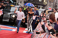 Simon Cowell, Alesha Dixon and David Walliams<br /> arrives to film for &quot;Britain's Got Talent&quot; 2017 at the Palladium, London.<br /> <br /> <br /> &copy;Ash Knotek  D3222  29/01/2017