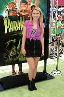 """LOS ANGELES - AUG 5:  Taylor Spreitler arrives at the """"ParaNorman"""" Premiere at Universal CityWalk on August 5, 2012 in Universal City, CA ©mpi27/MediaPunch Inc"""