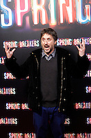 Director Harmony Korine attends 'Spring Breakers' photocall premiere at Callao Cinema in Madrid, Spain. February 21, 2013. (ALTERPHOTOS/Caro Marin) /NortePhoto