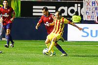 Liga BBVA Osasuna-Barcelona