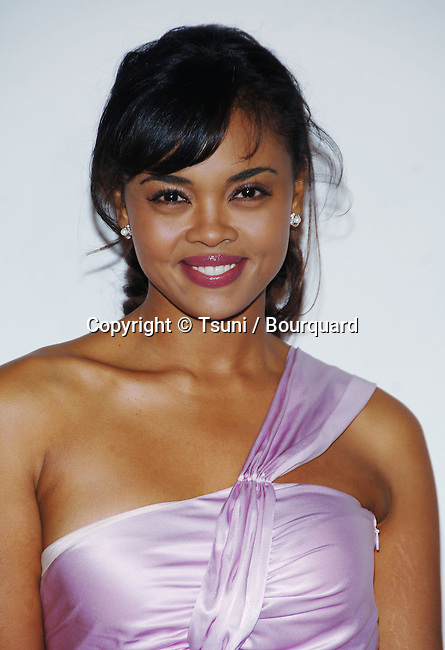 Sharon Leal arriving at the 2006 Asian Excellence Awards at the Wiltern Theatre In Los Angeles. January 19, 2006.