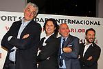 XIV Sopar Solidari de Nadal.<br /> Esport Solidari Internacional-ESI.<br /> Fernando Romay, Poty, Labi Champion &amp;  Antonio David Flores.
