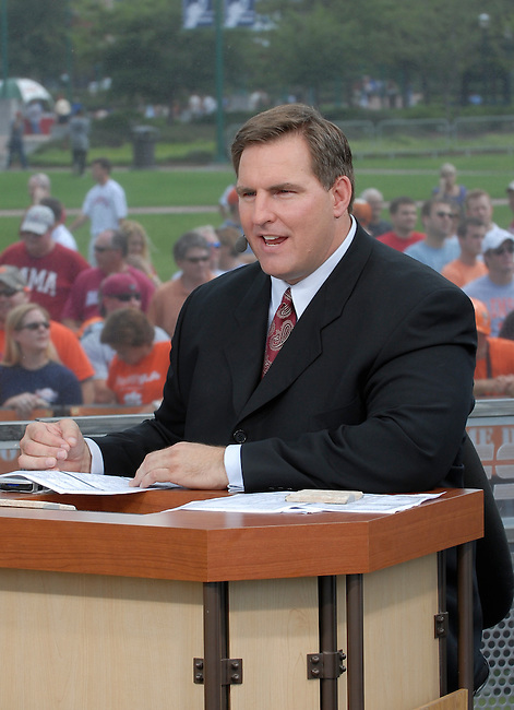 Friday, August 29, 2008 -- Atlanta, Ga -- College Football Live with analyst Trevor Matich