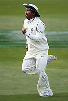India's Sachin Tendulkar chases a ball in the outfield during day four of the 3rd test between the New Zealand Black Caps and India at Allied Prime Basin Reserve, Wellington, New Zealand on Monday, 6 April 2009. Photo: Dave Lintott / lintottphoto.co.nz.